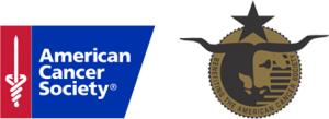 American Cancer Society and Victory volunteer group logo set